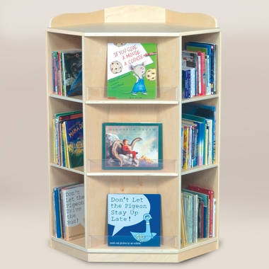 Corner Book Nook by GuideCraft