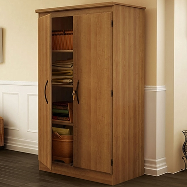 Morgan cherry Storage Cabinet by SouthShore