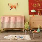 Mid-Century Crib Collection