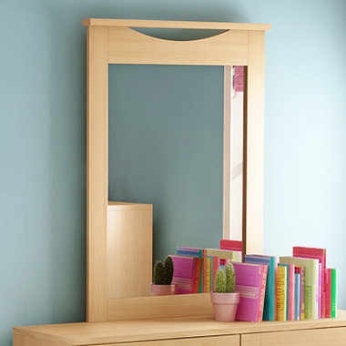 Natural Maple Step One Mirror by SouthShore - Click to enlarge