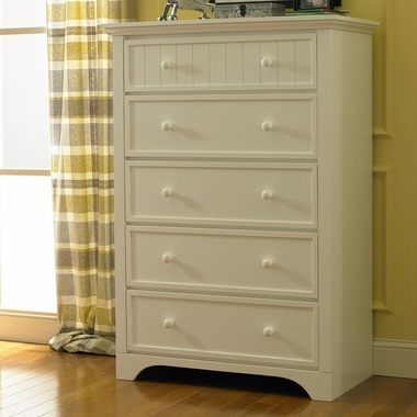 Snow White Lakeland 5 Drawer Dresser by Fisher Price - Click to enlarge