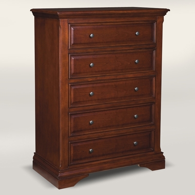 Virginia Cherry Donnington 5 Drawer Chest by Westwood Design