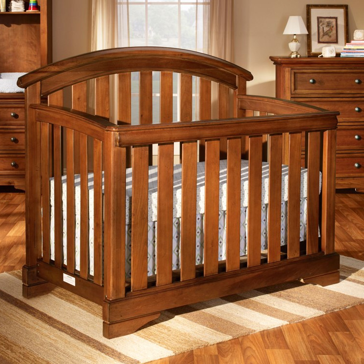 Tuscan Waverly Convertible Crib (Toddler Guard Rail Included) by Westwood Design