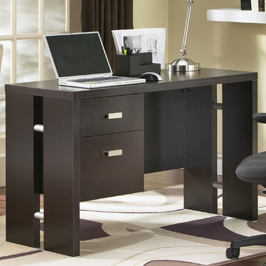 Chocolate Element Collection Desk by SouthShore