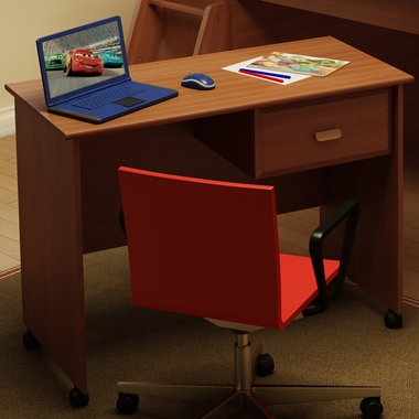 Morgan Cherry Imagine Small Desk by SouthShore