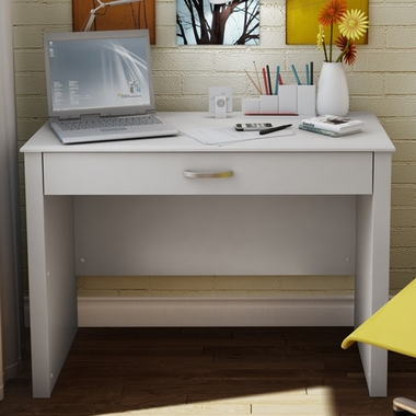 White Secretary Desk by SouthShore - Click to enlarge