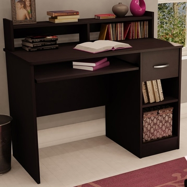 Chocolate Axess Small Desk by SouthShore - Click to enlarge