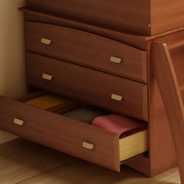 Morgan Cherry Imagine 3 Drawer Dresser by SouthShore