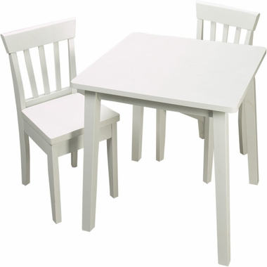 Square Table and Two Chair Set by Kids Korner - Click to enlarge