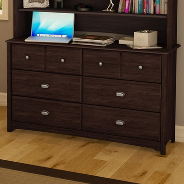 Havana Willow 6 Drawer Double Dresser by SouthShore - Click to enlarge