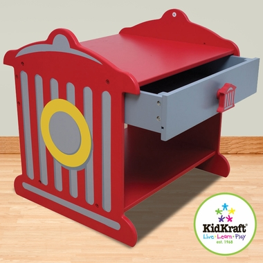 Firehouse Toddler Table Fire Hydrant Nightstand by KidKraft