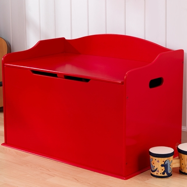 Red Austin Toy Box by KidKraft - Click to enlarge