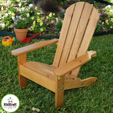 Honey Adirondack Chair by KidKraft - Click to enlarge
