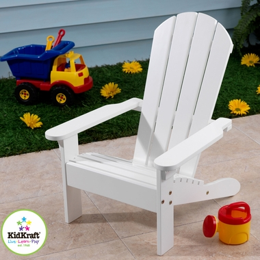 White Adirondack Chair by KidKraft - Click to enlarge
