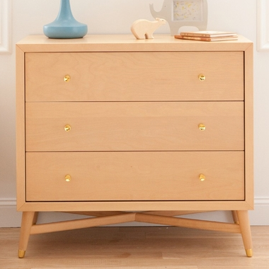 Natural Mid-Century Dresser by DwellStudio - Click to enlarge