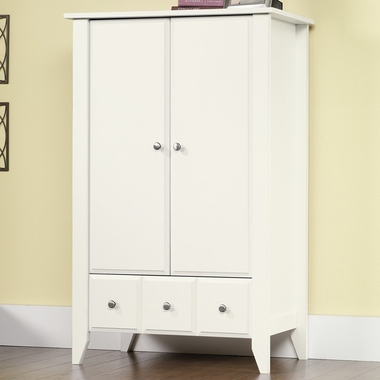 Matte White Shoal Creek Armoire by Child Craft - Click to enlarge