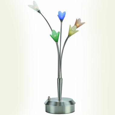 Flora 5-Lite Flower Table Lamp by Lite Source