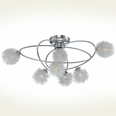 Hallan Large Flush Mount by Lite Source