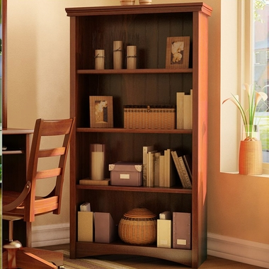 Sumptuous Cherry Gascony Shelf Bookcase by SouthShore - Click to enlarge