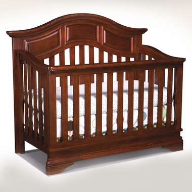 Virginia Cherry Donnington Convertible Crib by Westwood Design