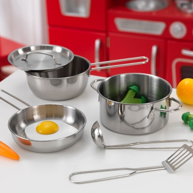 Deluxe Cookware Set by KidKraft