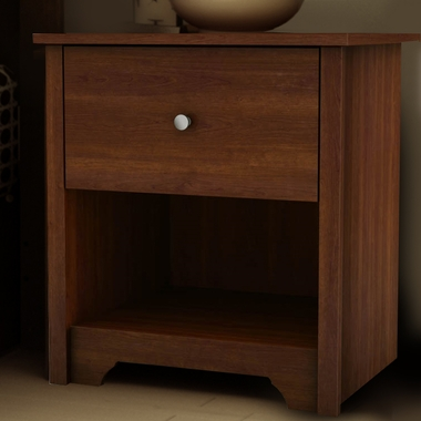 Cherry Vito Nightstand by SouthShore