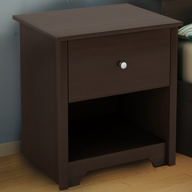 Chocolate Fusion Night Stand by SouthShore - Click to enlarge