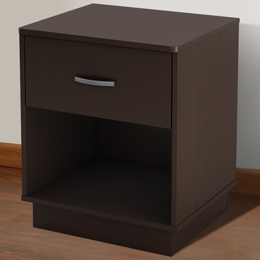 Chocolate Litchi Night Stand by SouthShore - Click to enlarge
