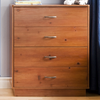 Sunny Pine Logik 4 Drawer Chest by SouthShore