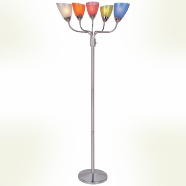 Uni II 5-Lite Floor Lamp by Lite Source