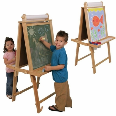 Deluxe Wood Easel by KidKraft