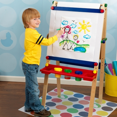 Artist Easel with Paper Roll by KidKraft