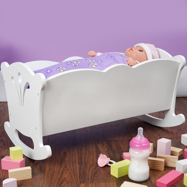 White Lil' Doll Cradle by KidKraft
