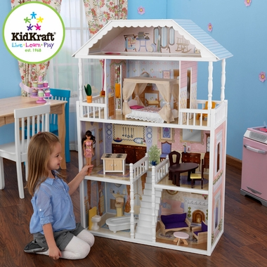 New Savannah Dollhouse by KidKraft