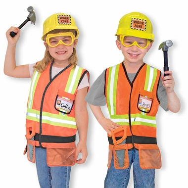 Construction Worker Role Play Costume Set by Melissa & Doug