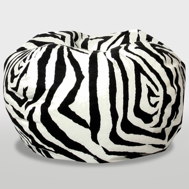 Zebra The Classic Ultimax Bean Bag by Comfort Research