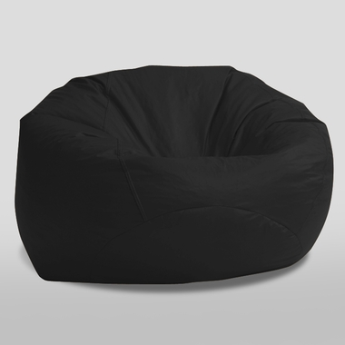 Black Onyx Suede The Classic Ultimax Bean Bag by Comfort Research