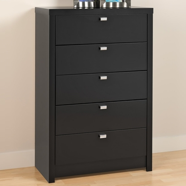 Black Series 9 Designer 5 Drawer Chest by PrePac - Click to enlarge