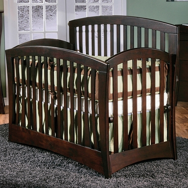Mocacchino Trieste 4 in 1 Convertible Forever Crib by Pali
