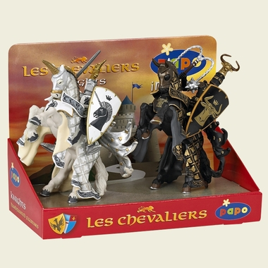 Papo Display Box Weapons Knight 1 (4 fig.) by Hotaling