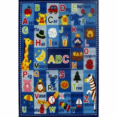 "Letters & Names Rug 39"" x 58"" by Fun Rugs"