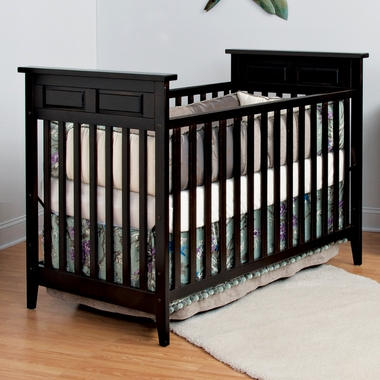 Jamocha Shoal Creek 2 in 1 Traditional Style Convertible Crib by Child Craft - Click to enlarge