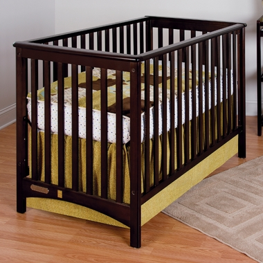 Jamocha Shoal Creek 2 in 1 Euro Style Convertible Crib by Child Craft - Click to enlarge