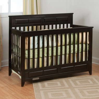 Jamocha Shoal Creek 3 in 1 Lifetime Convertible Crib by Child Craft - Click to enlarge