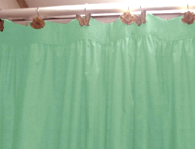 Awesome Mint Green Shower Curtain Fabric Pictures - Best image 3D ...