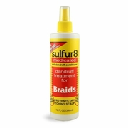 Sulfur8 Medicated Dandruff Treatment For Braids 16 OZ