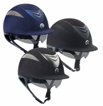 One K Defender Pro- Suede Helmet with Retractable Sun Shield