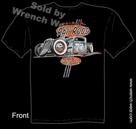 Hot Rod Wear 35 36 Rat Rod T Shirts 1935 1936 Ford Truck Pick Up Clothing