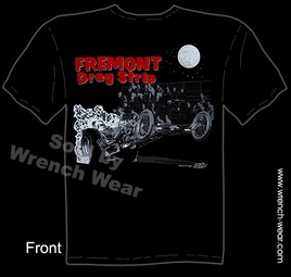 Vintage Drag Racing Shirts Fremont Drag Strip Racing T Shirt Dragster Speed Tee