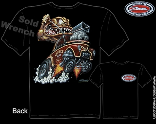 1941 Hot Rod T Shirts 41 Willys Gasser Monster Zombie Hotrod Tee Gearhead Shirt